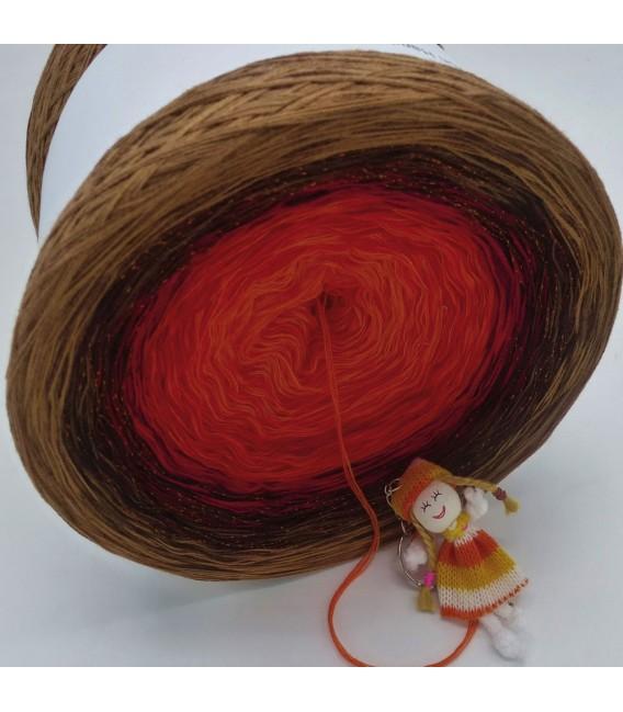 Feuerball (fireball) Mega Bobbel - 4 ply gradient yarn - image 3