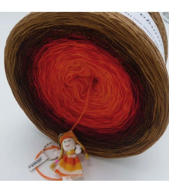 Feuerball (fireball) Mega Bobbel - 4 ply gradient yarn - image 4