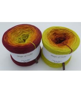 Magic of India - 4 ply gradient yarn - image 1