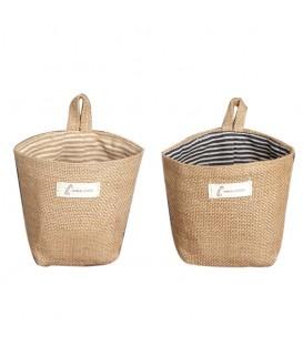 Utensilo - маленькая сумка Bobbel, открытая для подвешивания - в полоску - Фото 1