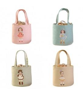 Utensilo - bobbel bag round with drawstring - girl - image 1