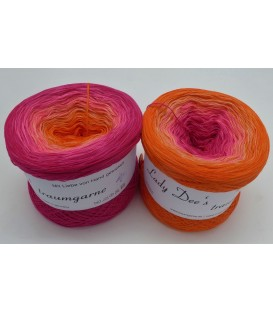 Hot Summer - 4 ply gradient yarn