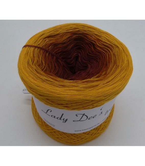 Curry küsst Kastanie (Curry kisses chestnut) - 4 ply gradient yarn - image 2