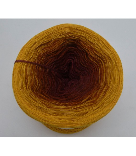 Curry küsst Kastanie (Curry kisses chestnut) - 4 ply gradient yarn - image 3