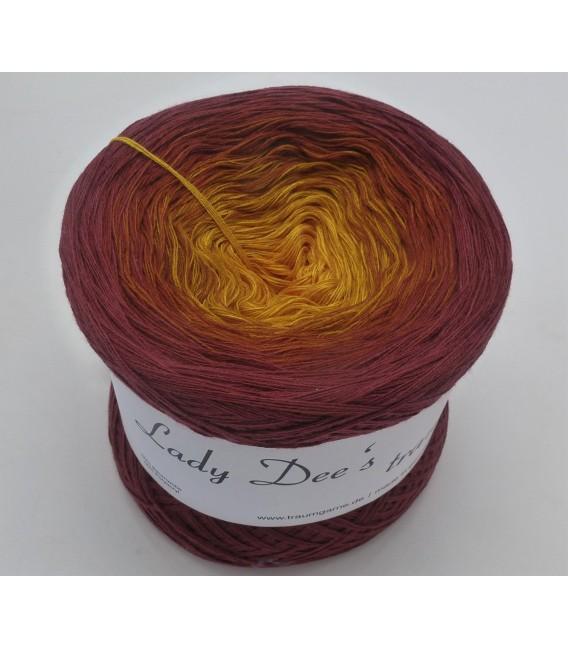 Curry küsst Kastanie (Curry kisses chestnut) - 4 ply gradient yarn - image 4