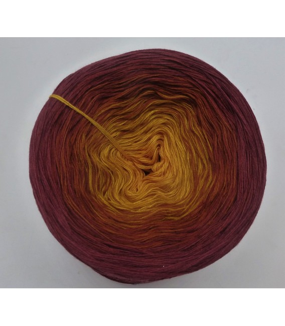 Curry küsst Kastanie (Curry kisses chestnut) - 4 ply gradient yarn - image 5