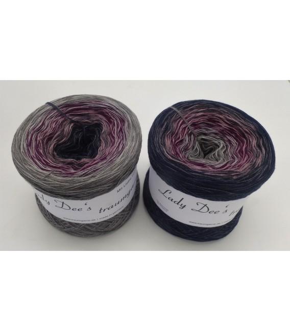 Dark Wine - 4 ply gradient yarn - image 1