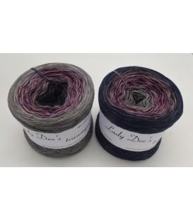 Dark Wine - 4 ply gradient yarn
