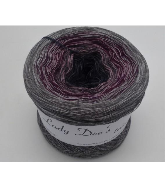 Dark Wine - 4 ply gradient yarn - image 2