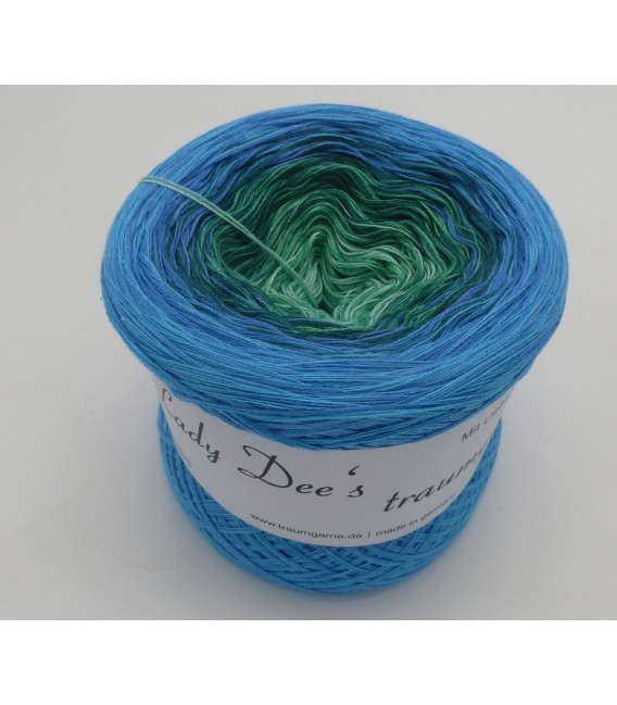 Blue Grass (Herbe bleue) - 4 fils de gradient filamenteux - Photo 2