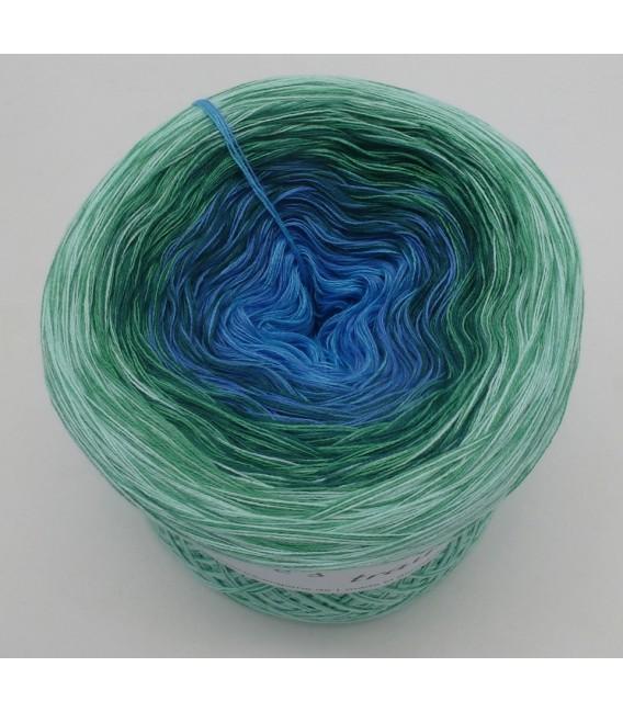 Blue Grass - 4 ply gradient yarn - image 5