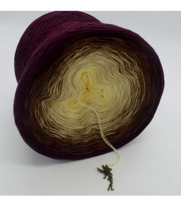 gradient yarn 4ply Loreley - chianti outside 3