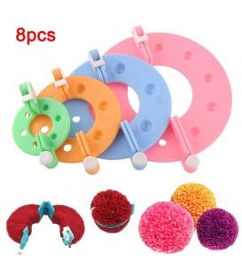 8-piece Pom Pom Makers set - image 1