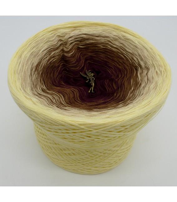 gradient yarn 4ply Loreley - Vanilla outside