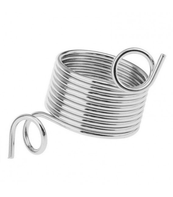 Knitting thimble stainless steel - image 1