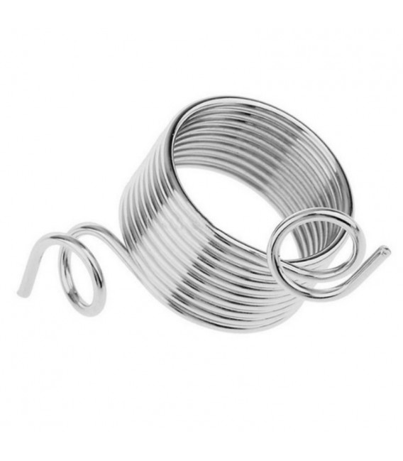 Knitting thimble stainless steel - image 2