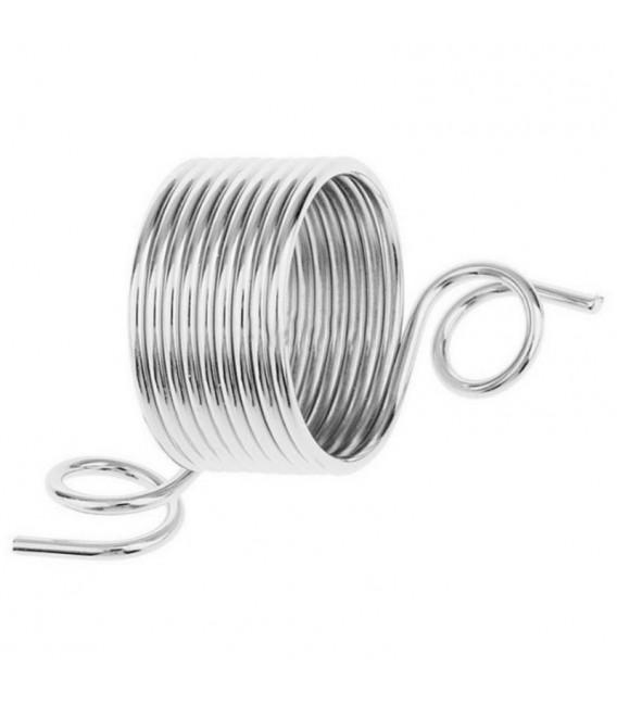 Dé à tricoter acier inoxydable - Photo 3
