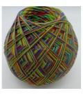 fil écheveaux multicolores