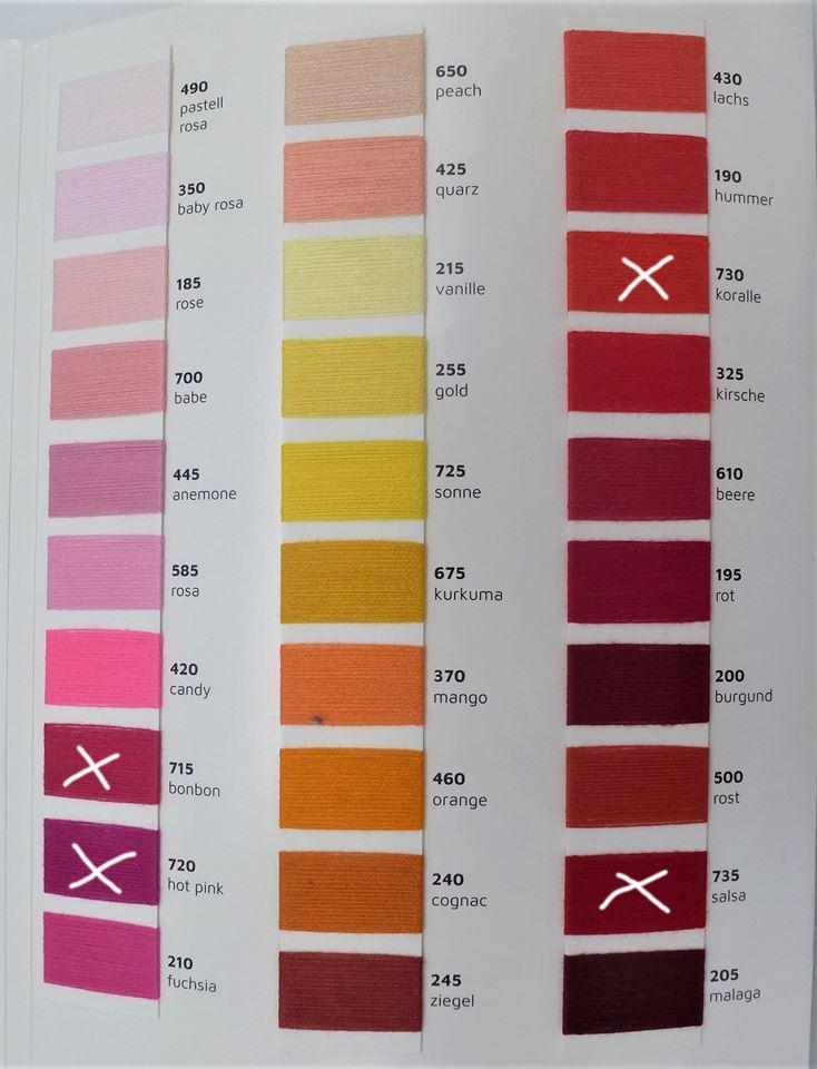 palette de couleurs 1