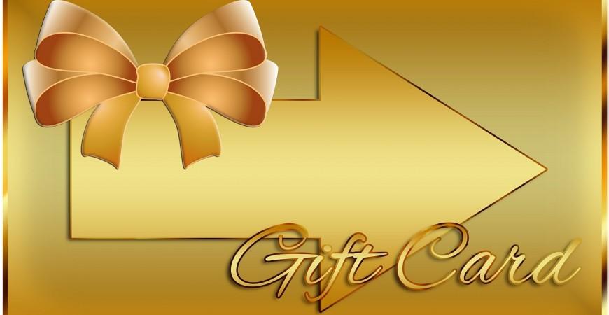 Новая категория Подарочные сертификаты / Подарочные карты
